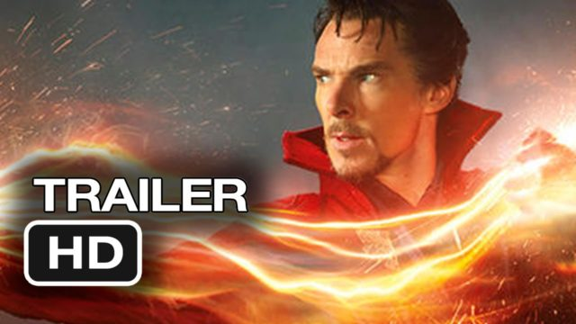 Dr. Strange Movie Trailer